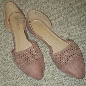 💜 Dusty Pink Flats